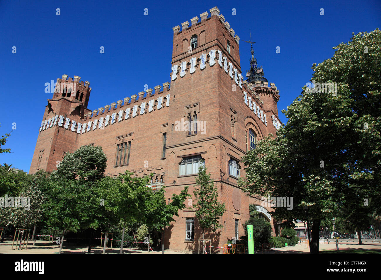 Spain, Catalonia, Barcelona, Museum of Natural Sciences, - Stock Image