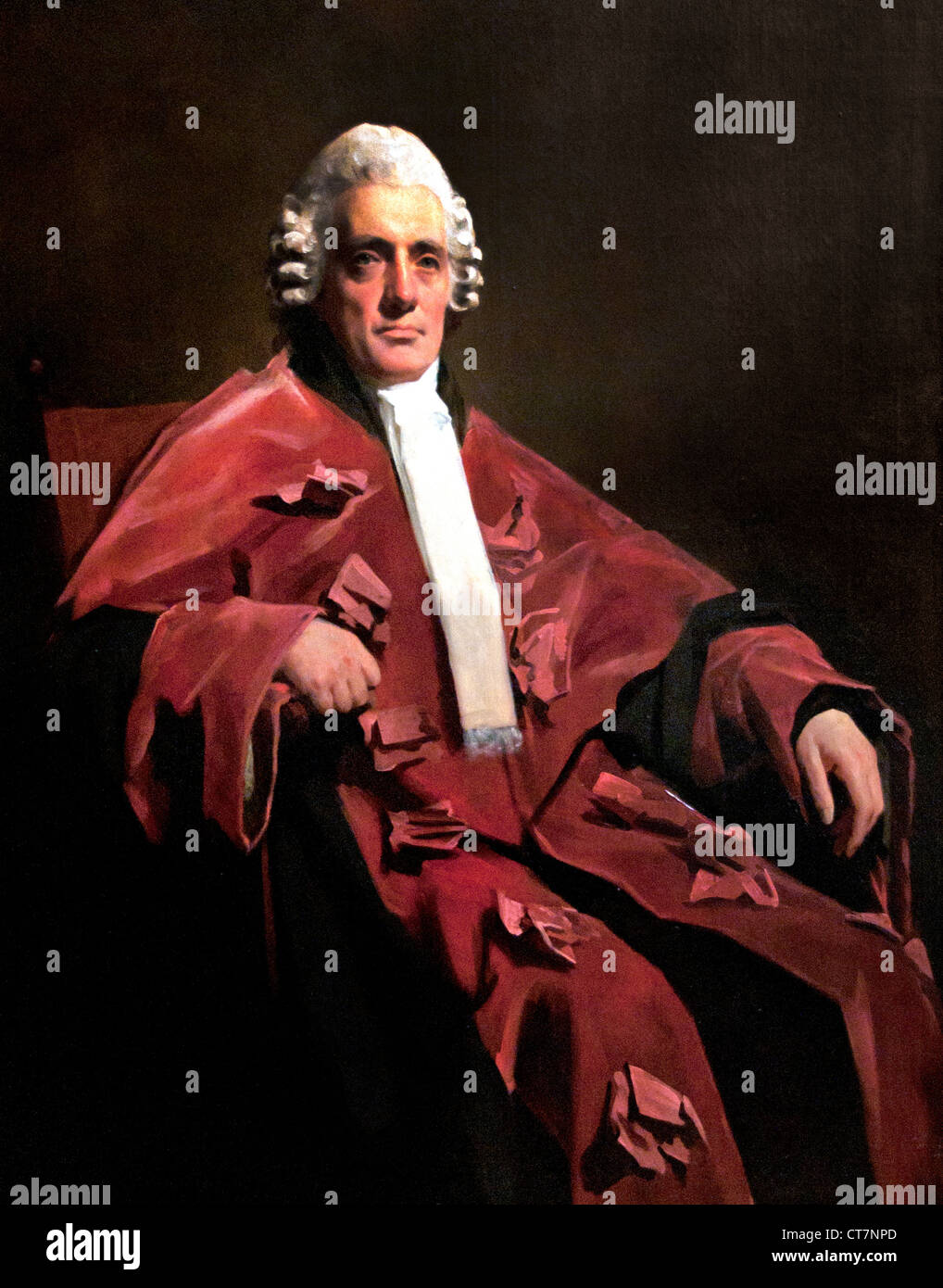 William Robertson 1753–1835 Lord Robertson1805 Sir Henry Raeburn Scottish Scotland Stock Photo