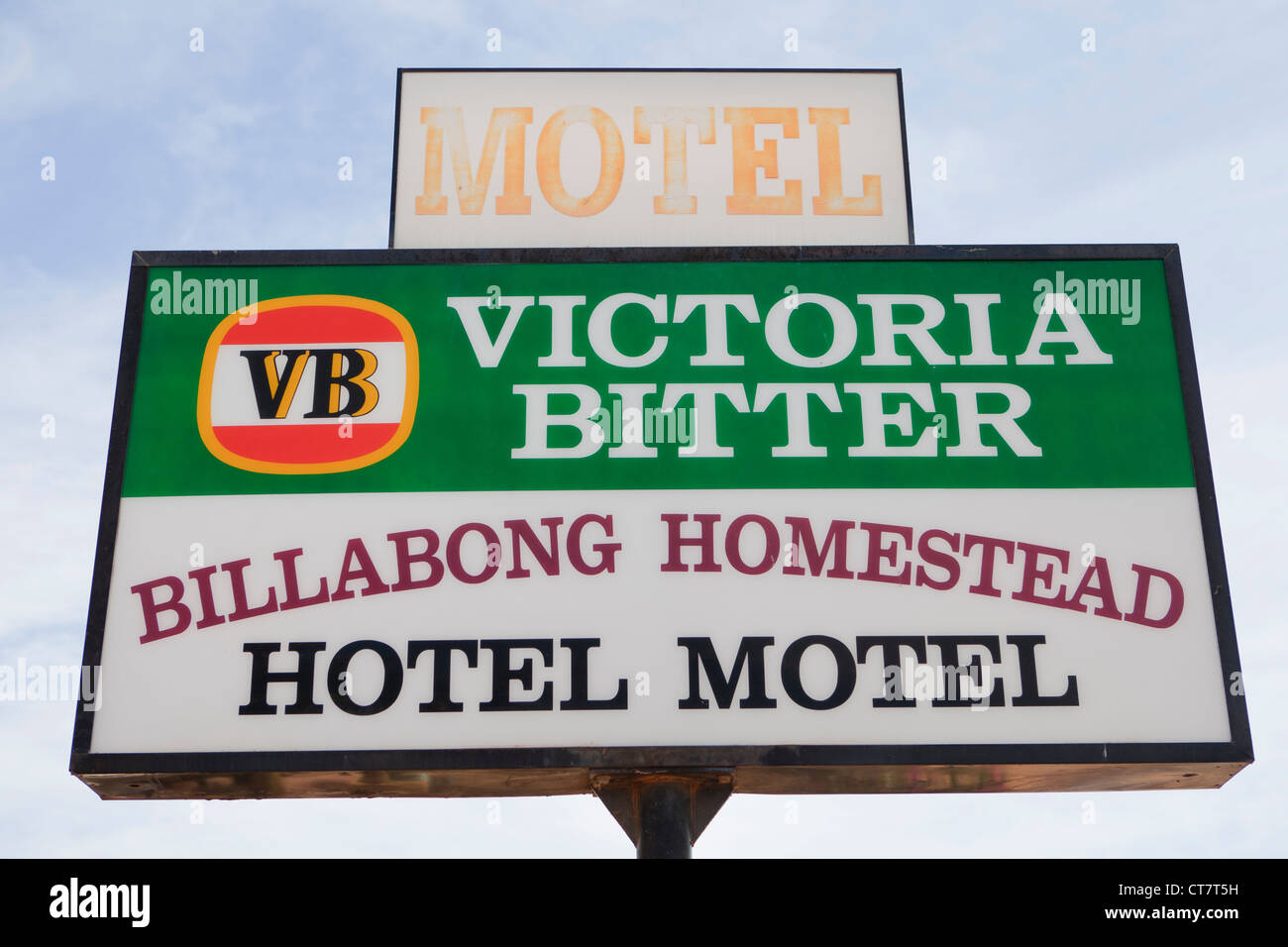 The Billabong Road House in Western Australia. - Stock Image