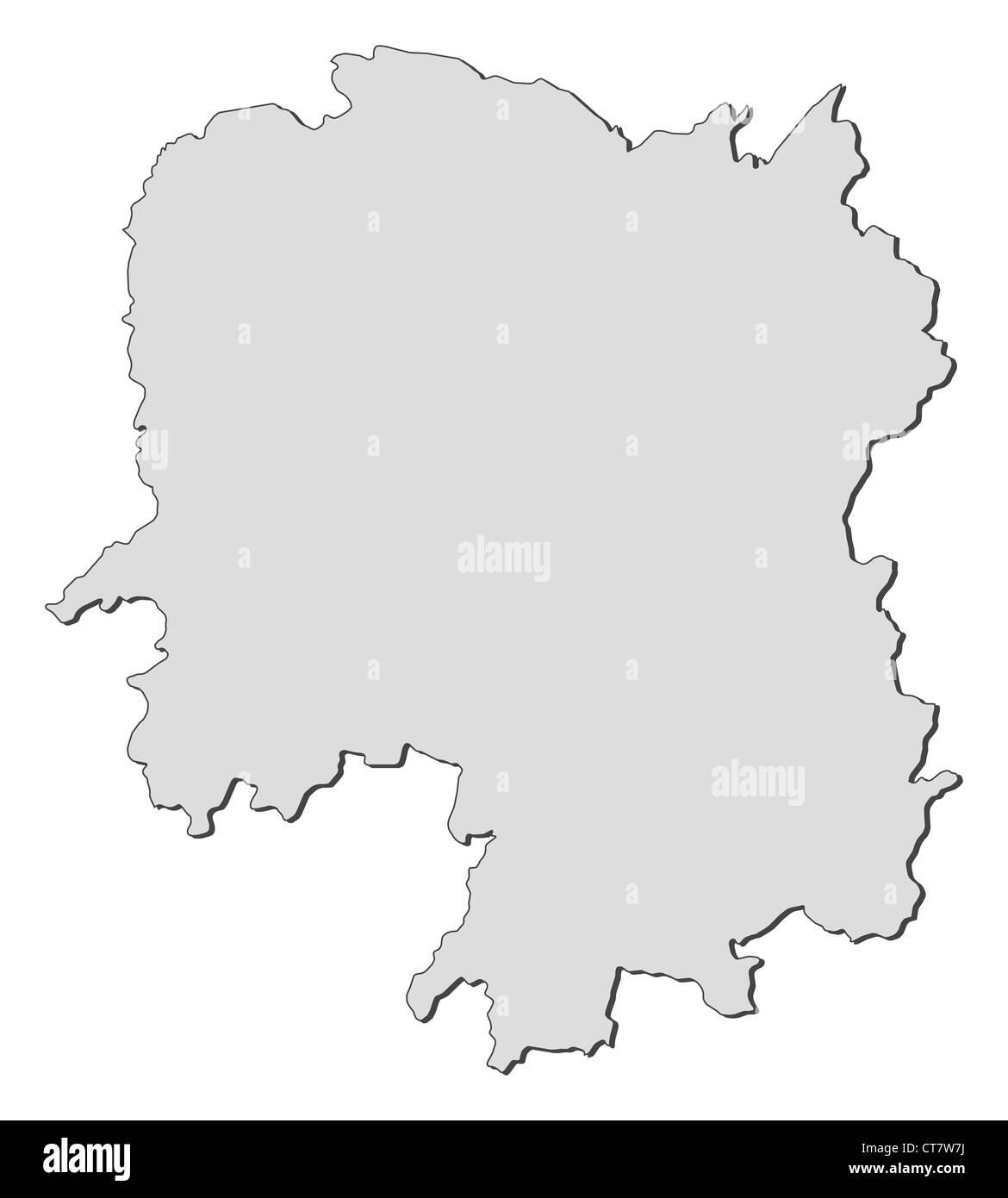 Hunan Province China Map.Map Of Hunan A Province Of China Stock Photo 49345958 Alamy
