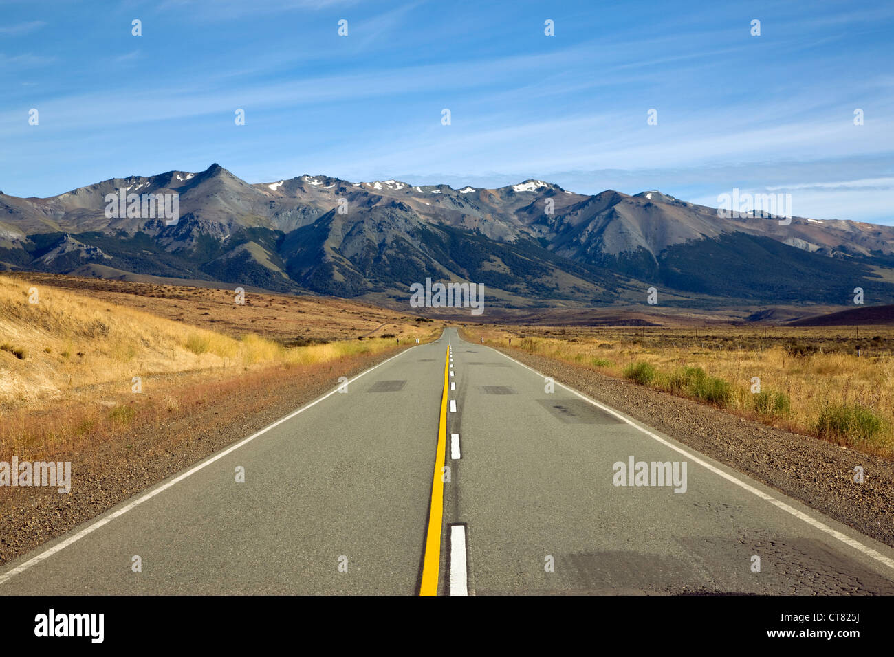 View along Ruta 40 - Stock Image