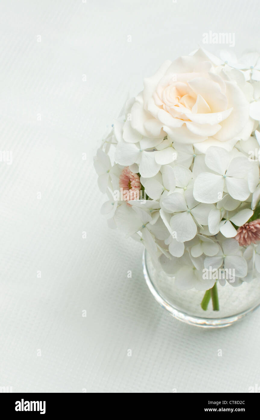 Rose And Hydrangea Stock Photos & Rose And Hydrangea Stock Images ...