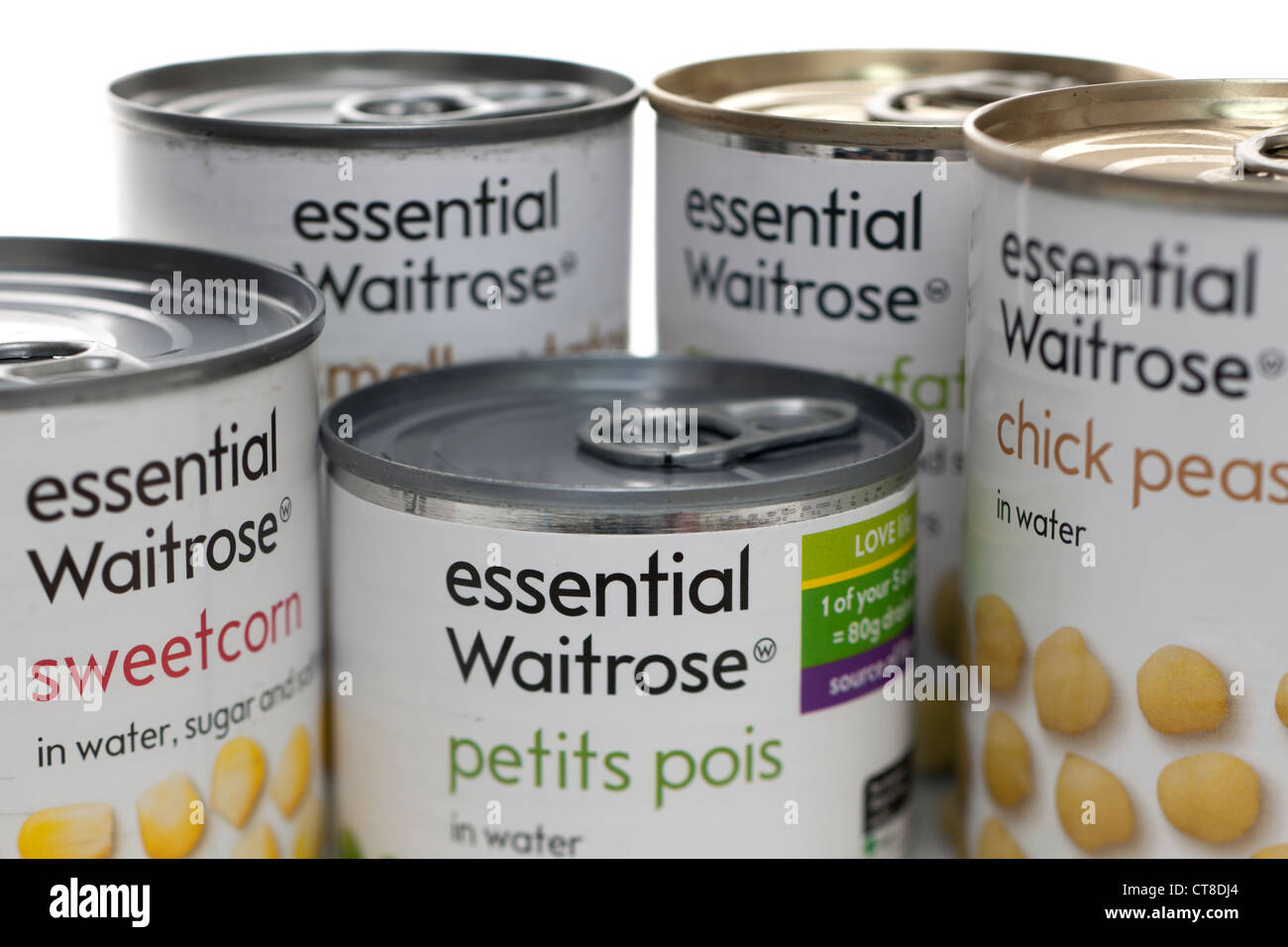 Essential Waitrose products - Stock Image