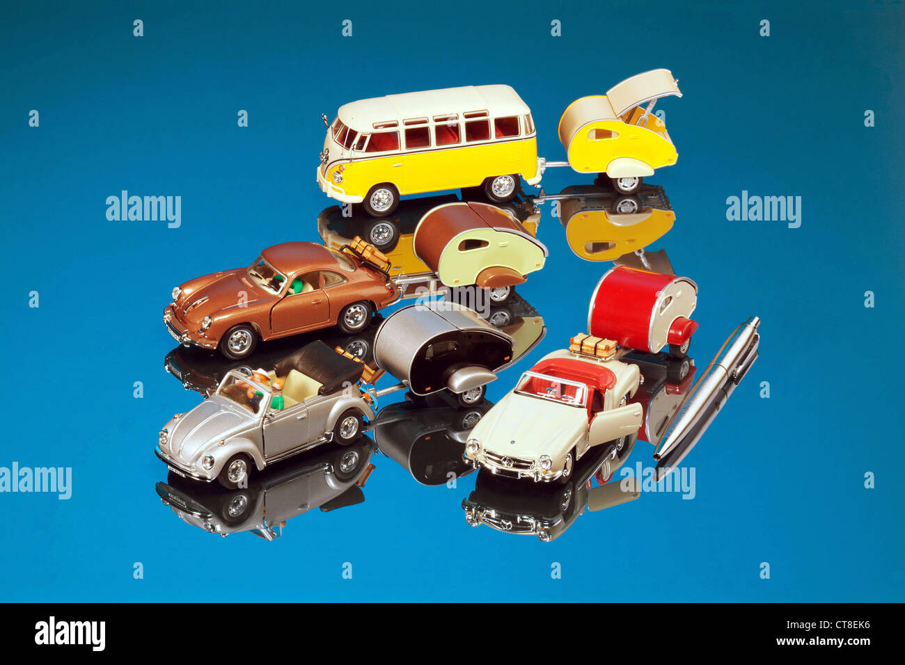 Miniature Cars Stock Photo