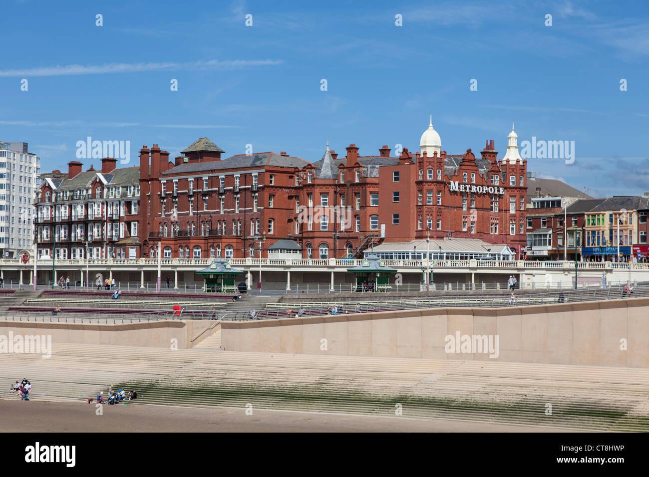 Metropole Hotel, Blackpool - Stock Image