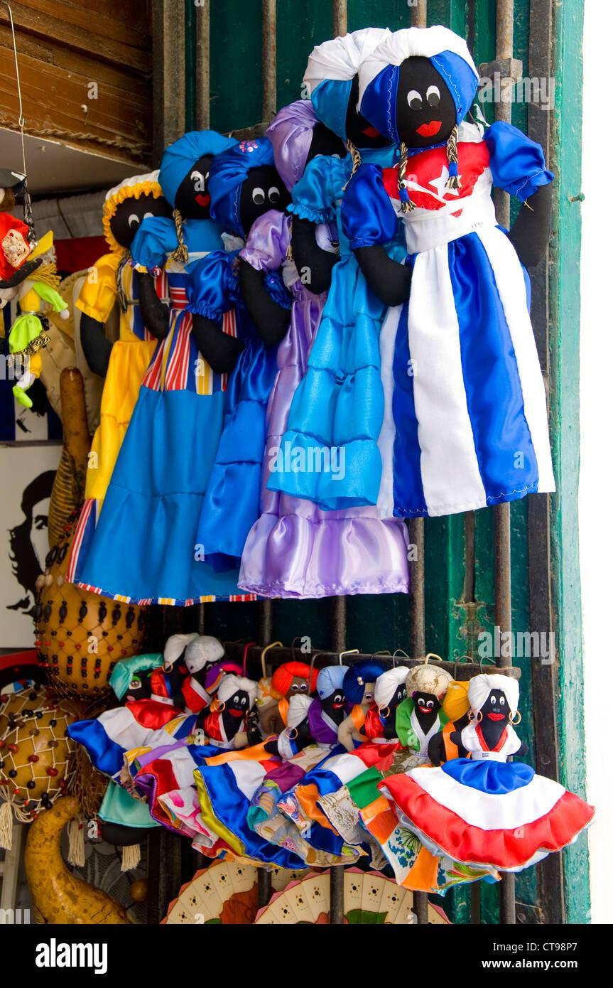 Local Handicrafts, La Havana, Cuba - Stock Image