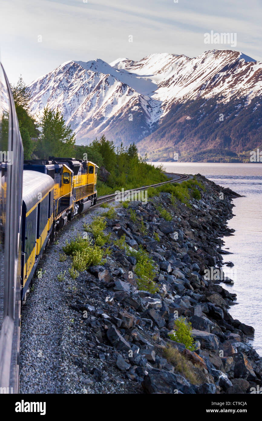 Downtown Classic Coastal Home: Train Ride Alaska Stock Photos & Train Ride Alaska Stock