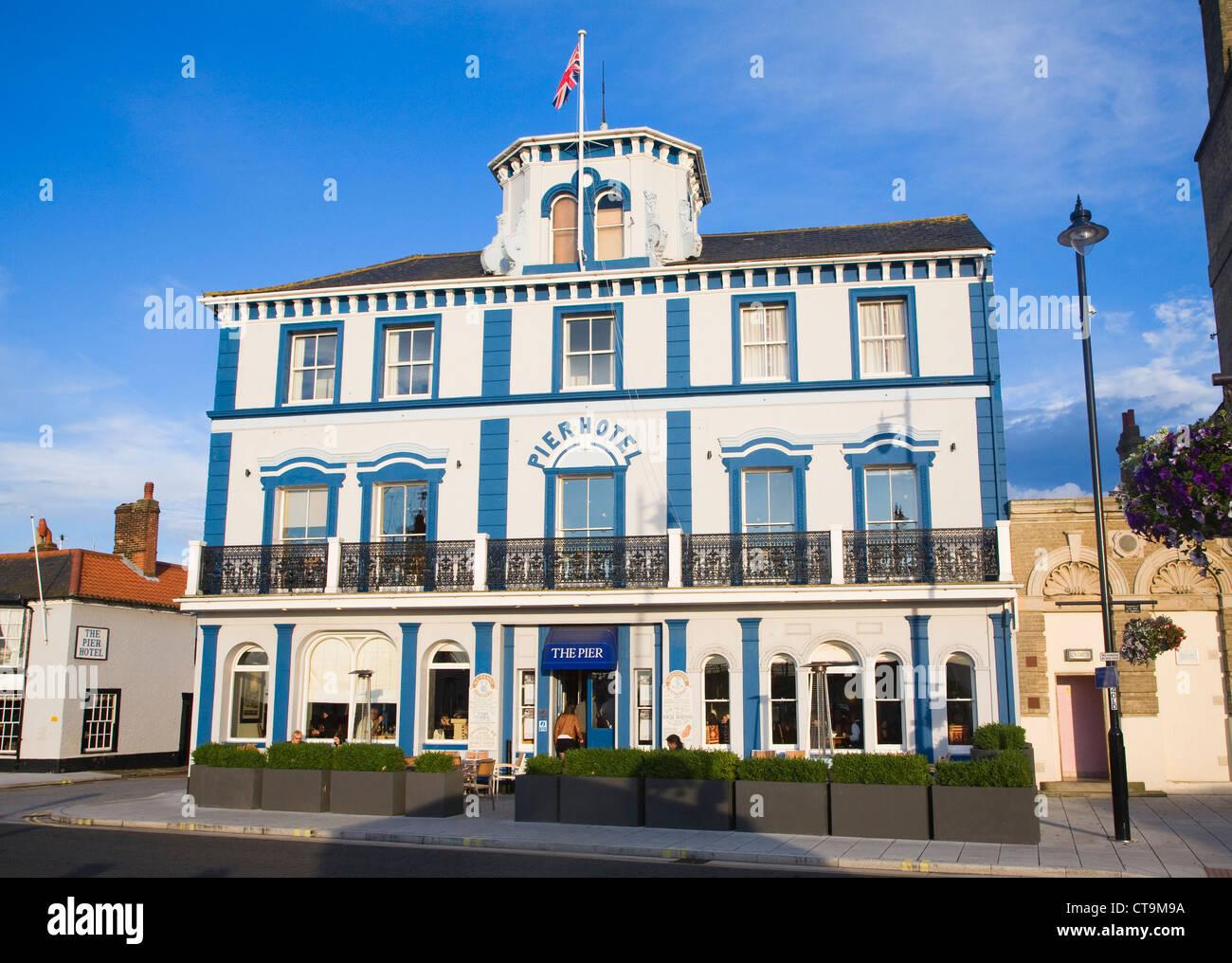 Pier hotel Harwich Essex England - Stock Image