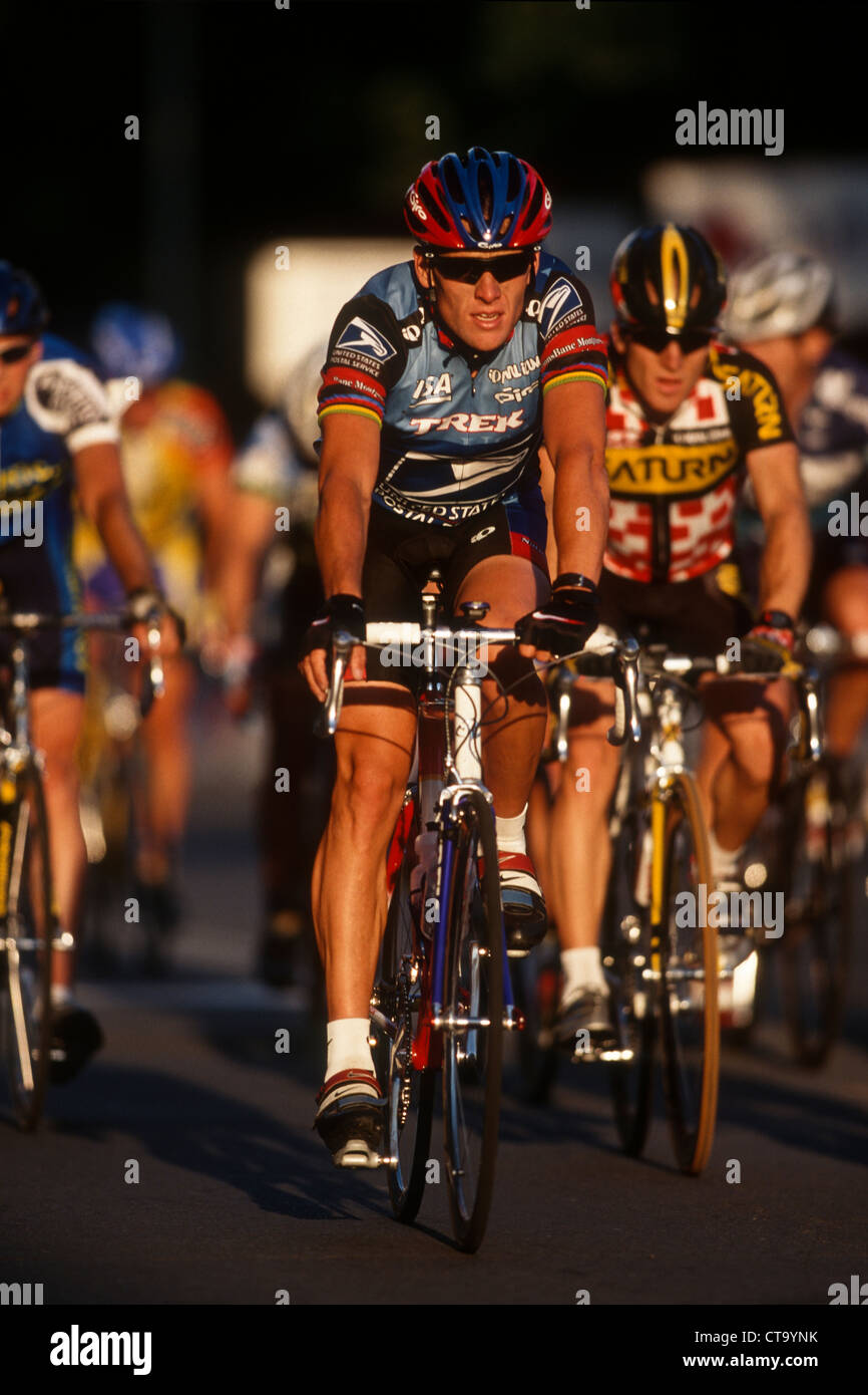 Lance Armstrong competing for the US Postal Service Team at the 1998 First  Union US PRO 4a364fa17