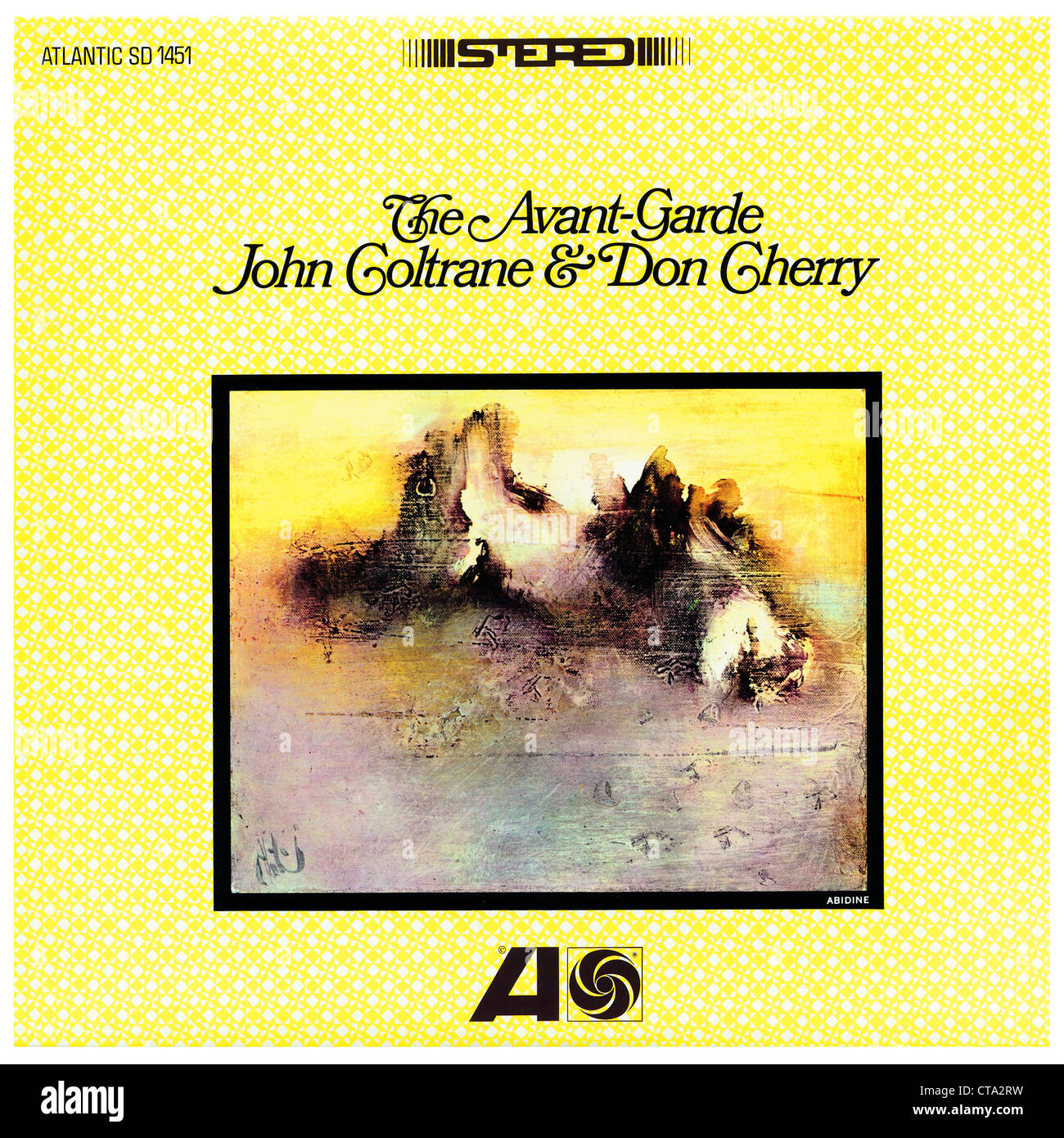 John Coltrane and Don Cherry LP cover Photo Courtesy Granamour Weems Collection  Editorial Use Only - Stock Image