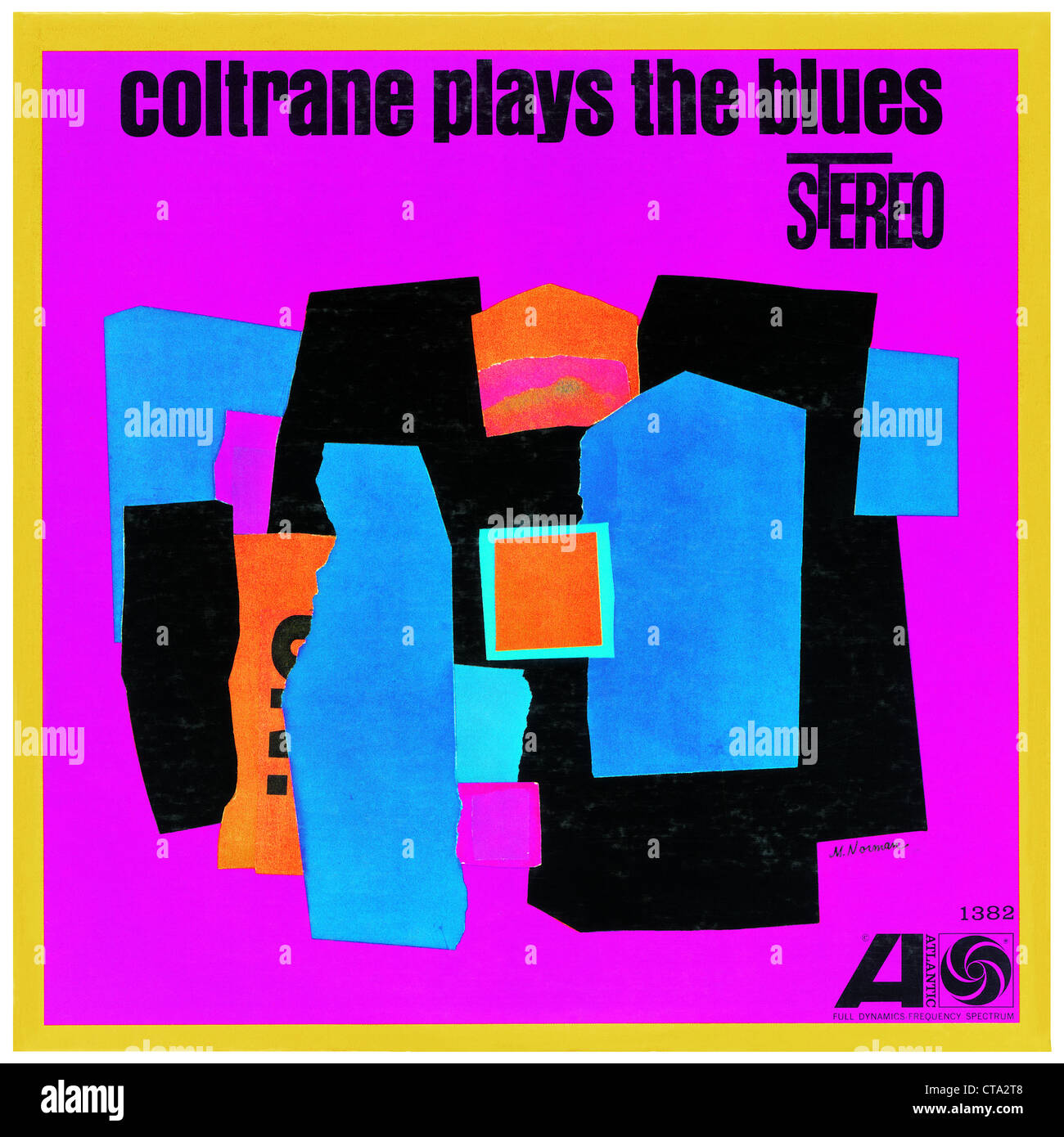 John Coltrane LP Cover Photo Courtesy Granamour Weems Collection  Editorial Use Only - Stock Image