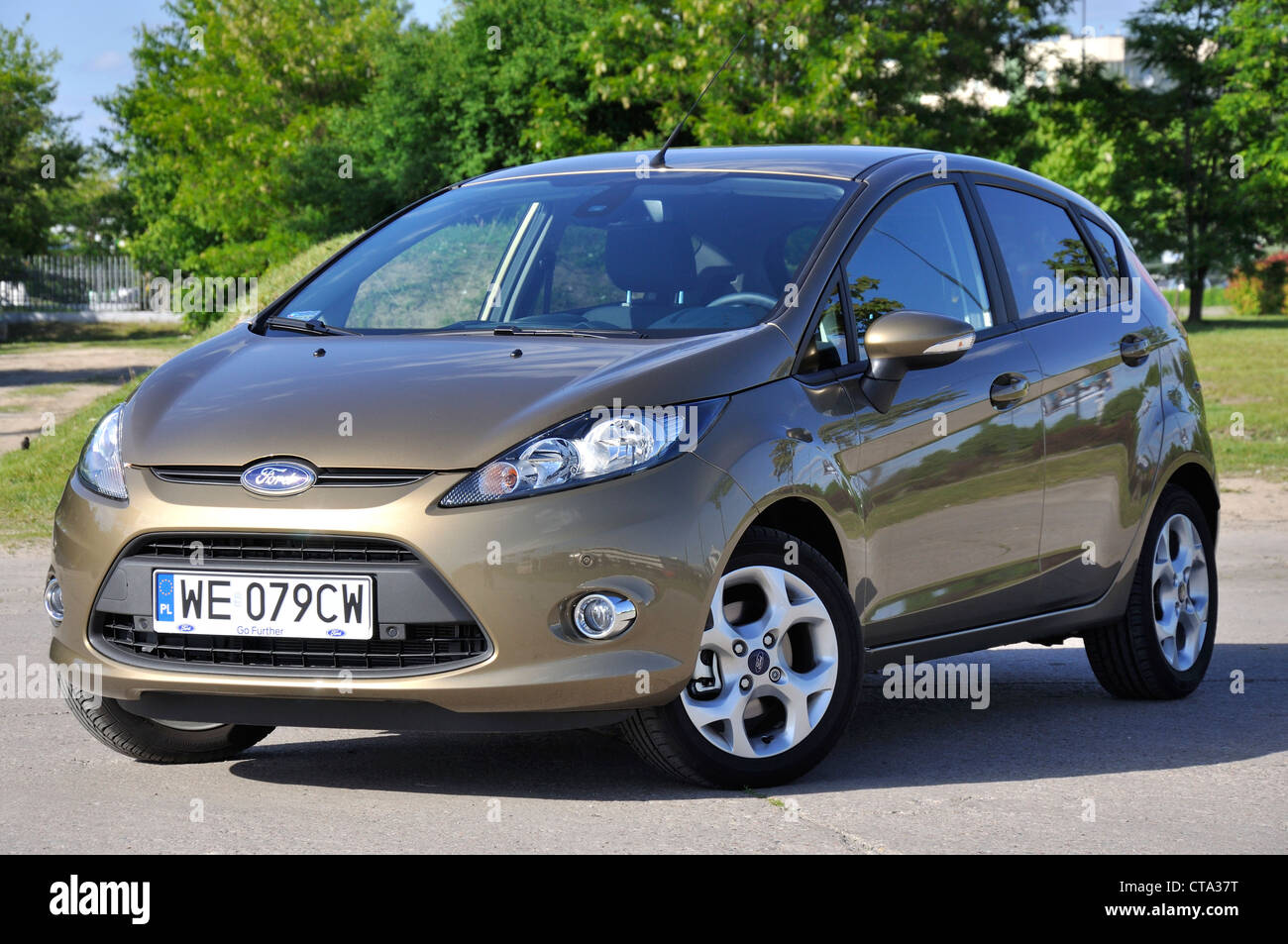 Ford Fiesta Stock Photos Images Alamy 2012 Fuel Filter My 2008 Fl Popular German Small City Car