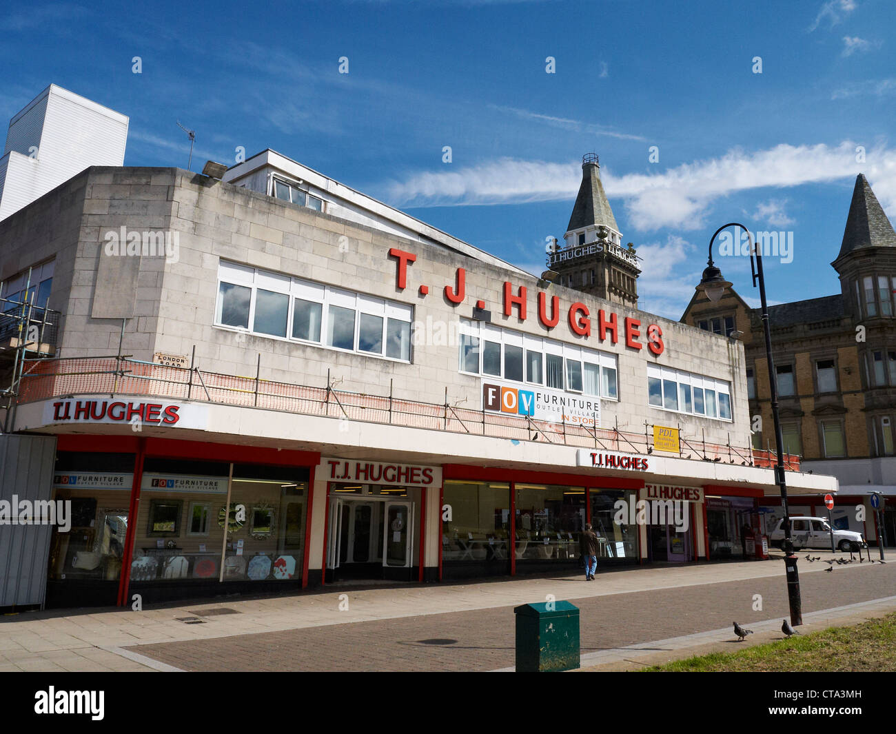 T J Hughes Retail Store In Liverpool Uk Stock Photo 49394929 Alamy