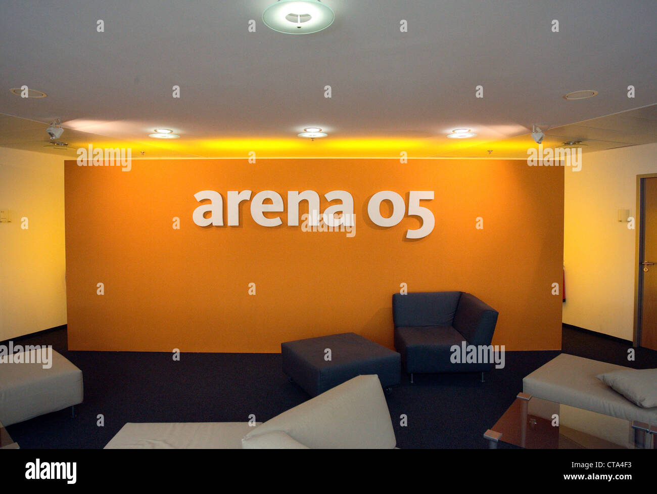 Berlin arena, 05, the campaign headquarters of the CDU - Stock Image
