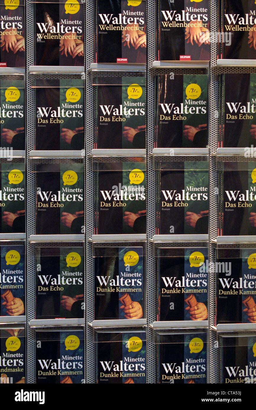 Title of the Goldmann Verlag Leiziger on the Book Fair - Stock Image