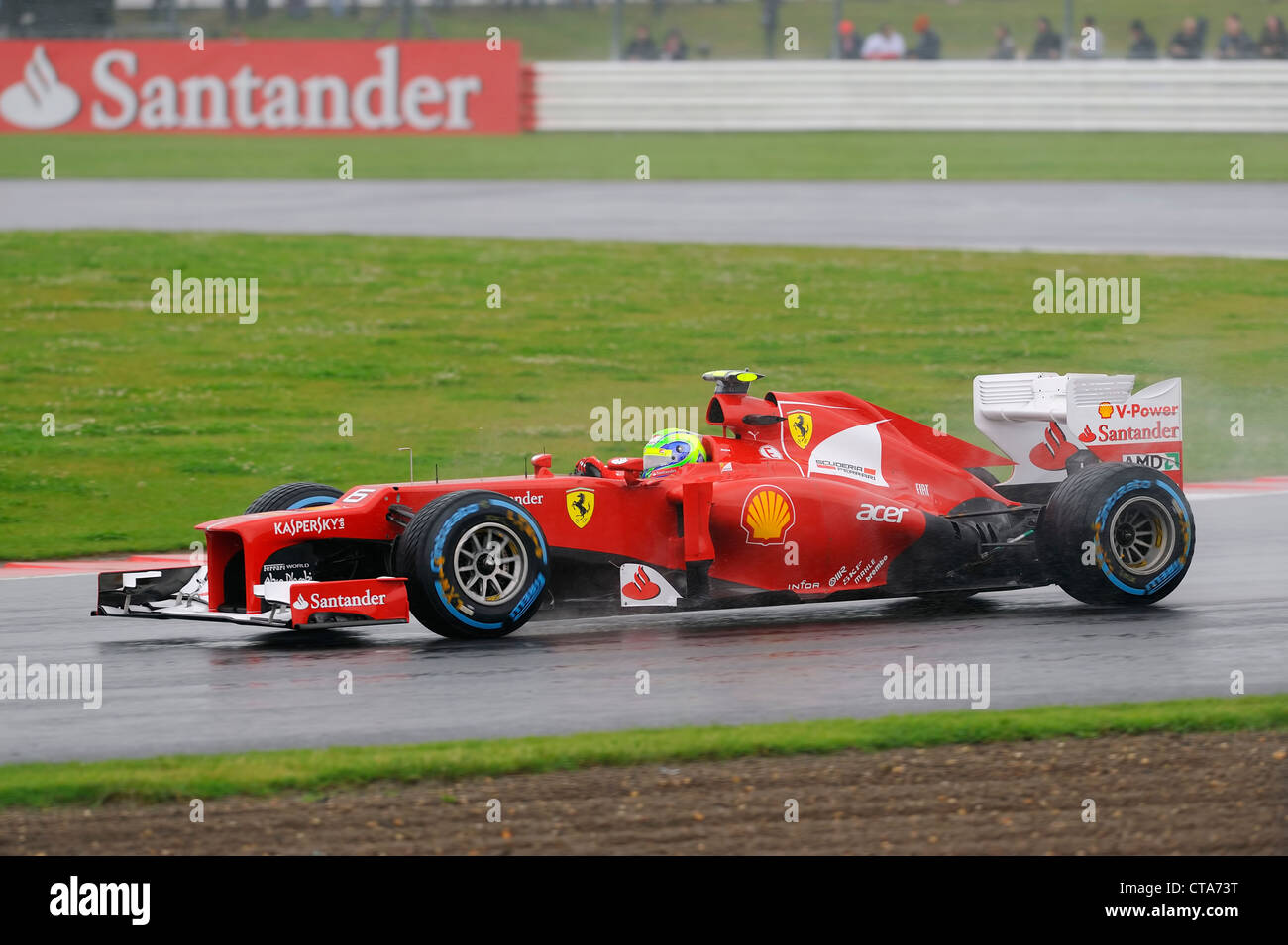 Ferrari F1 2012 Stock Photo Alamy