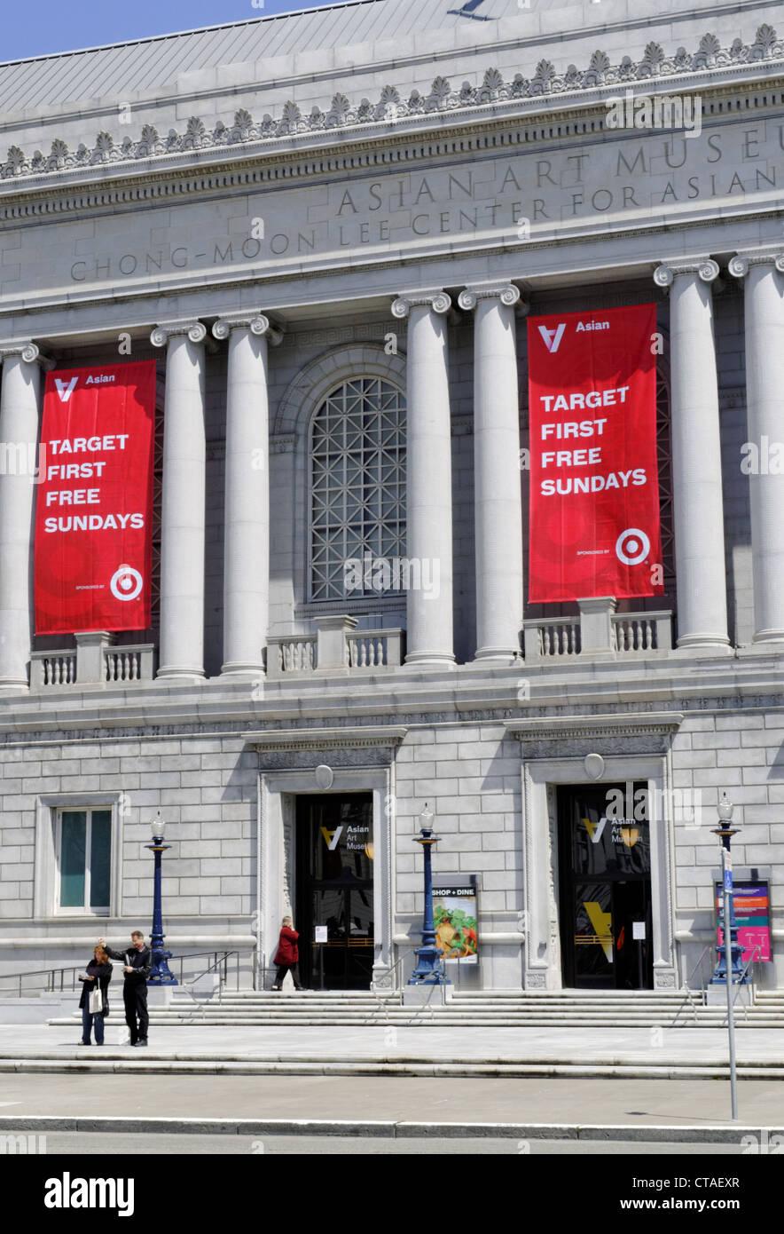 Asian Art Museum, San Francisco, California, USA - Stock Image