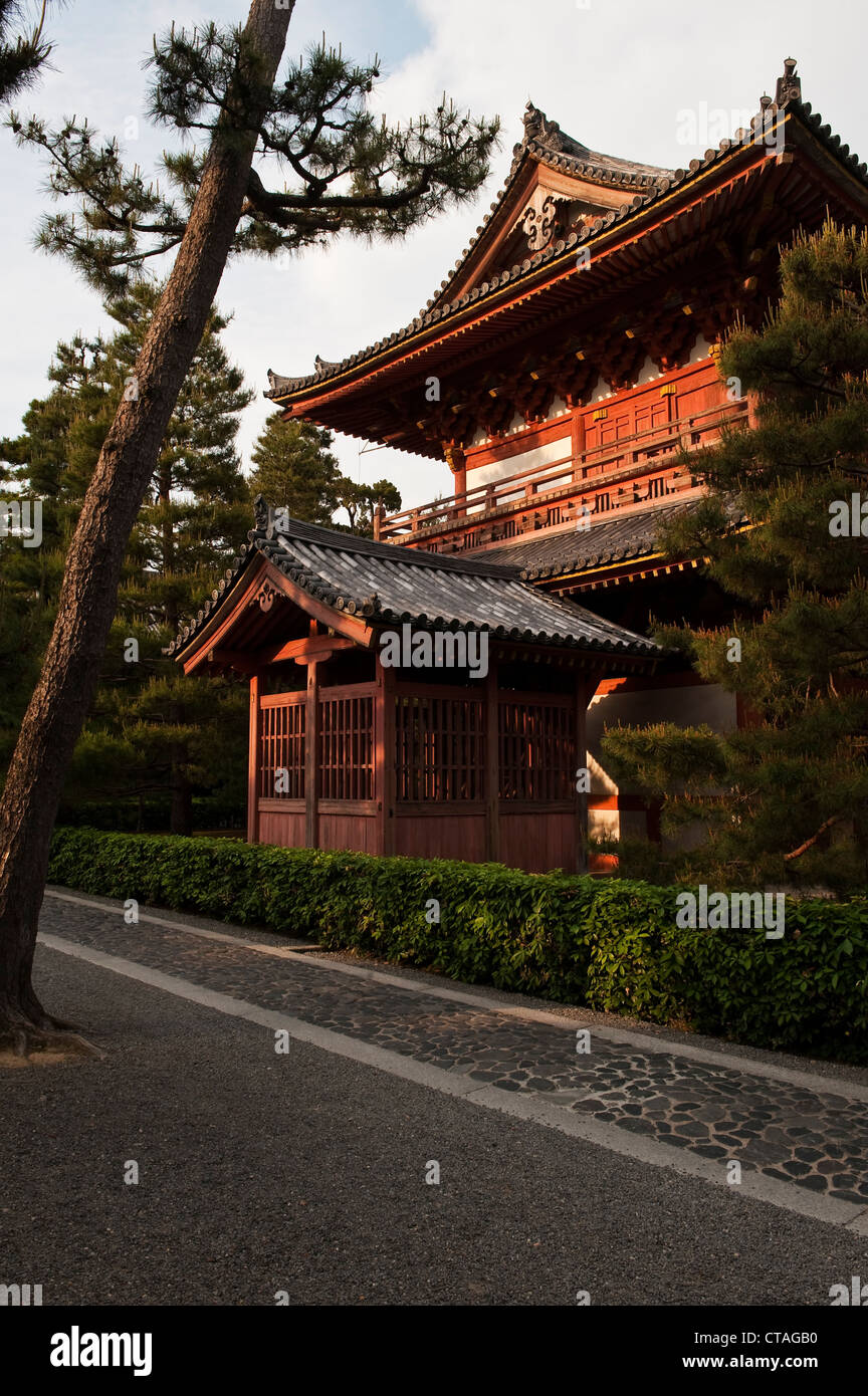 Kyoto, Japan. The butsuden (Buddha Hall) at Daitoku-ji temple - Stock Image