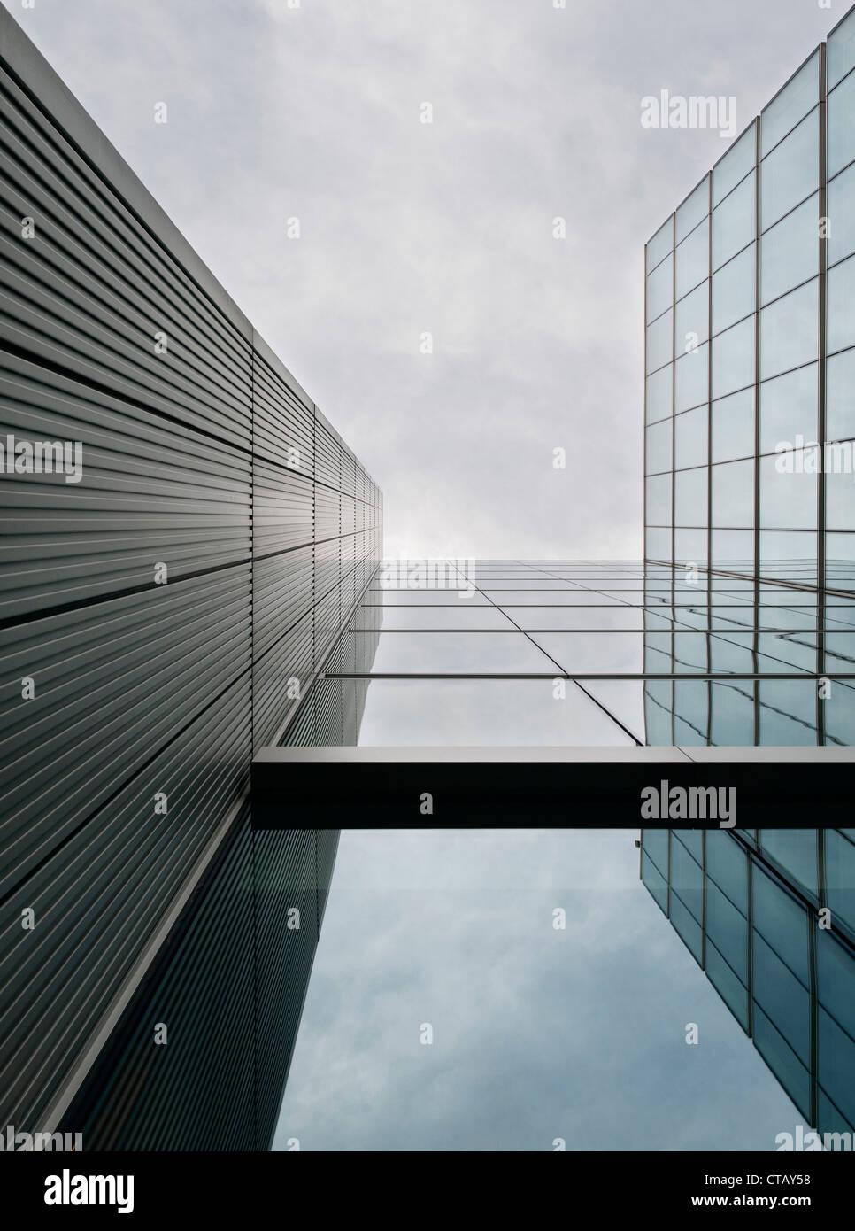 Modern architecture, New London, London, capital, England, UK - Stock Image