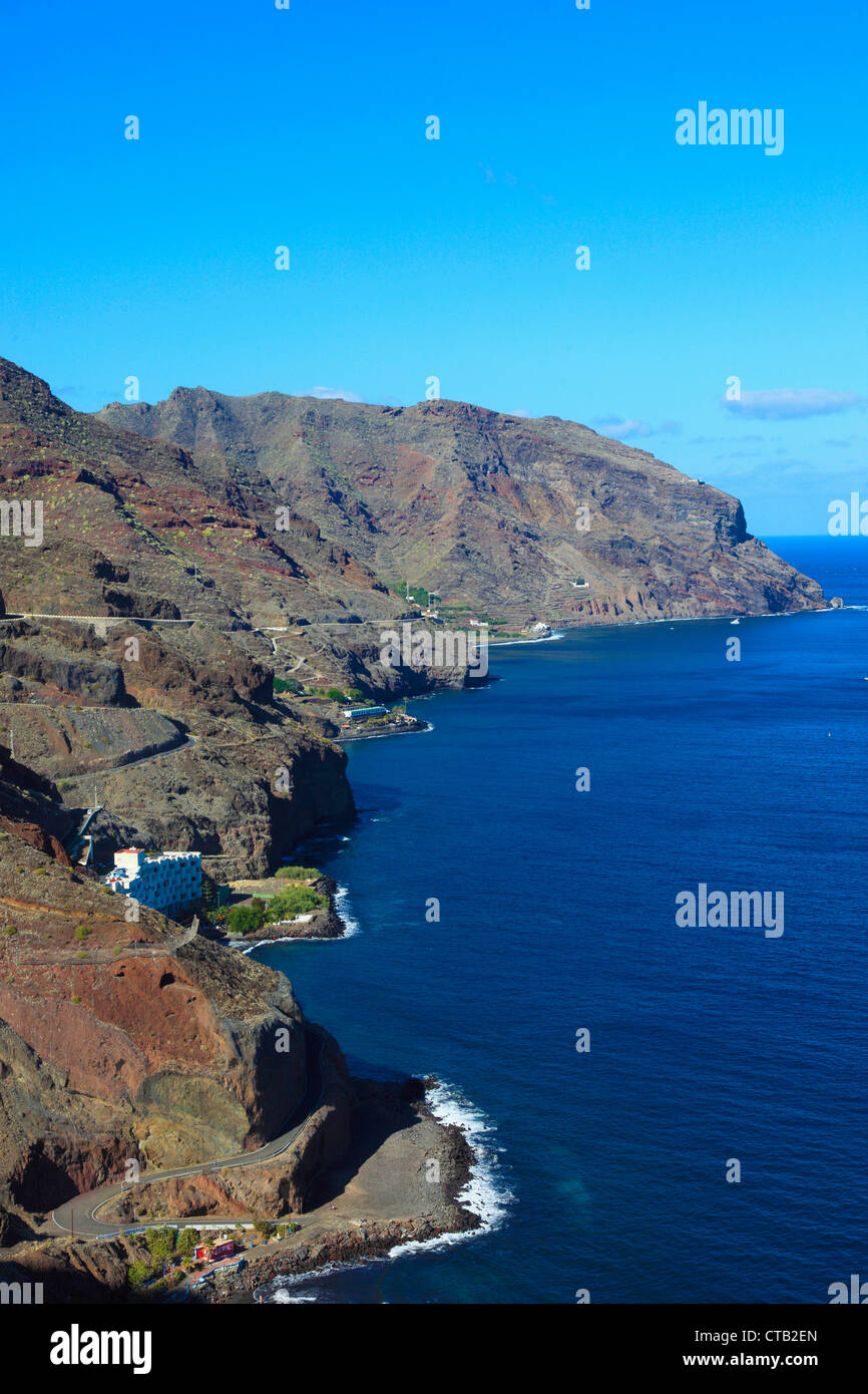 Spain, Canary Islands, Tenerife, northeastern coast, landscape, - Stock Image
