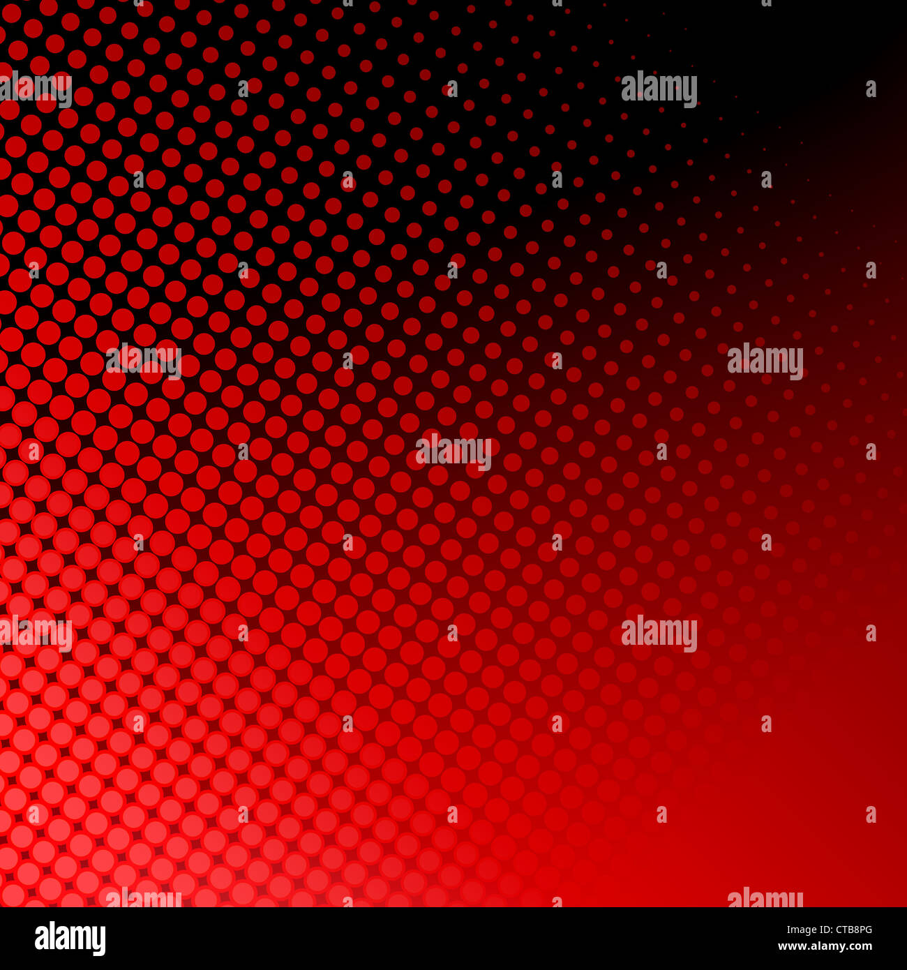 Abstract red dots pattern Stock Photo