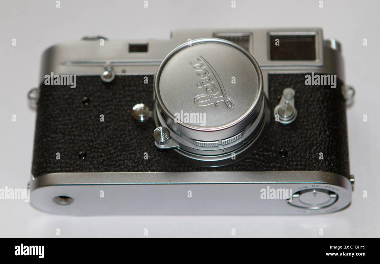 Leica M3 rangefinder film camera - Stock Image