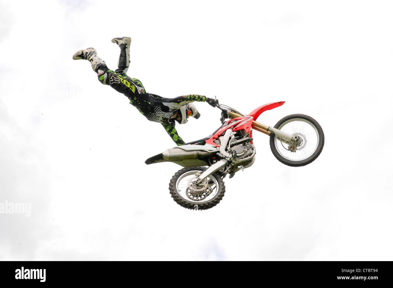E01175 Freestyle Moto Cross - Stock Image