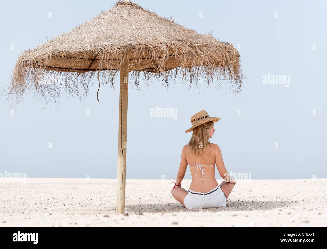 Protection from the Sun. - Stock Image