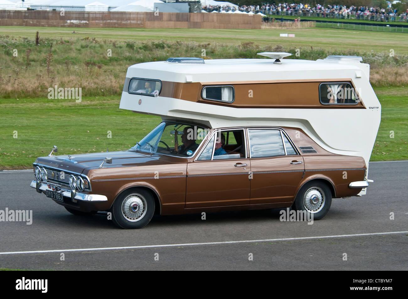 1970 ford zephyr camper stock photo 49435687 alamy. Black Bedroom Furniture Sets. Home Design Ideas