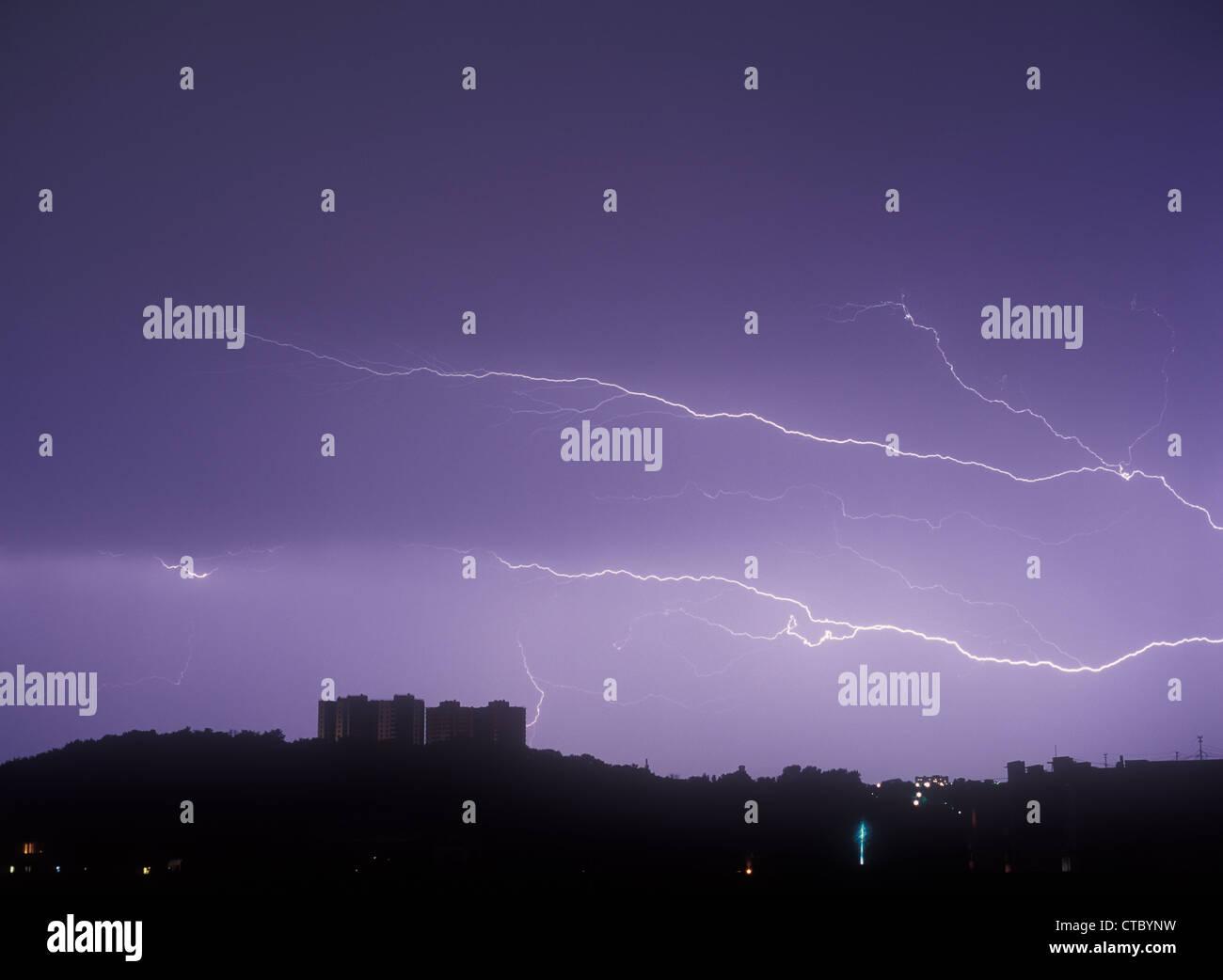 Lightning. - Stock Image