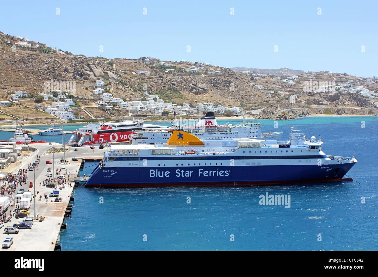 Blue Star Ferries - Stock Image
