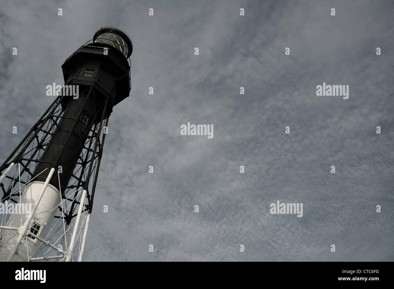 Hillsboro Lighthouse Stock Photo
