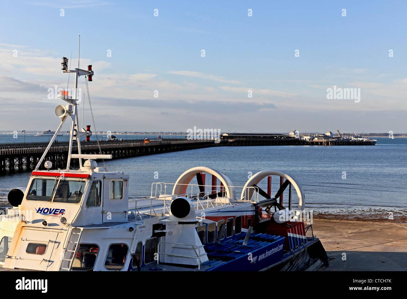4147. Hovercraft Harbour, Ryde, Isle of Wight, UK - Stock Image