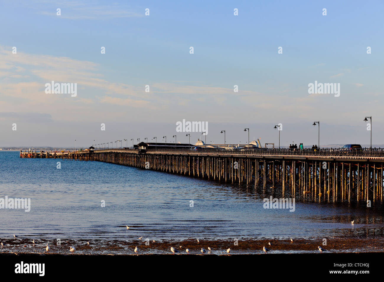 4151. The Pier, Ryde, Isle of Wight, UK - Stock Image