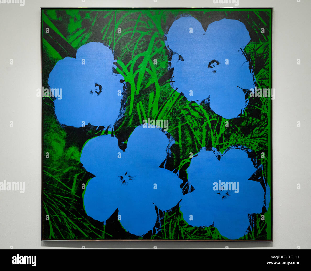 Fiori Warhol.Flowers Andy Warhol 1964 Oil And Photoserigraph On Linen Usa