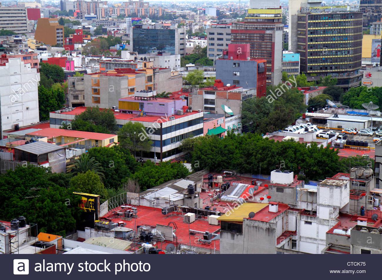 Mexico City Mexico DF D.F. Ciudad de México Federal District Distrito Federal Zona Rosa Doctores - Stock Image