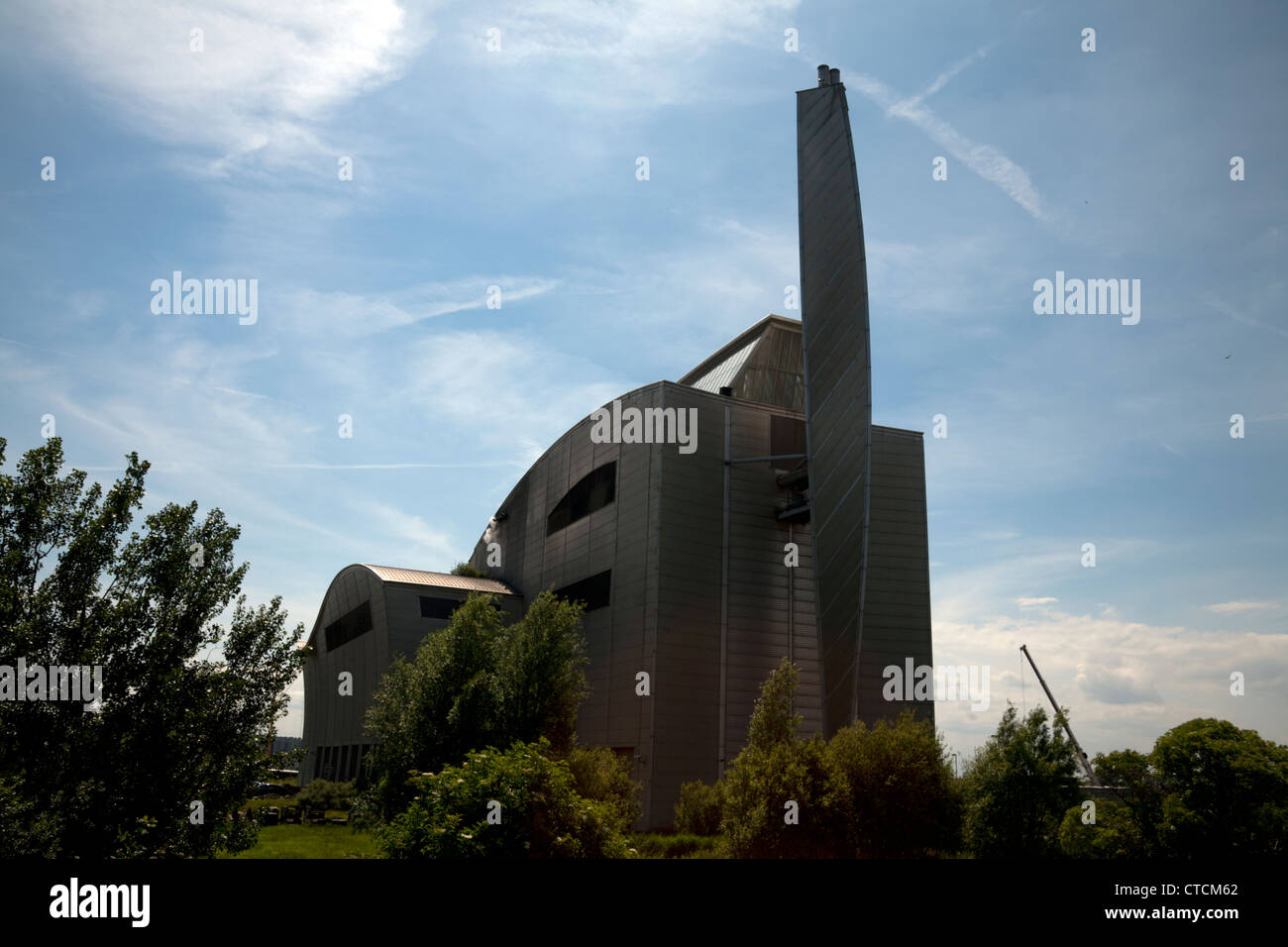 crossness sludge powered generator belvedere london england - Stock Image