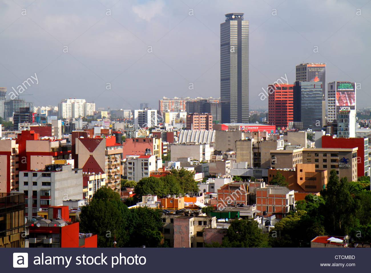 Mexico City Mexico DF D.F. Ciudad de México Federal District Distrito Federal Juarez Doctores Benito Juarez - Stock Image