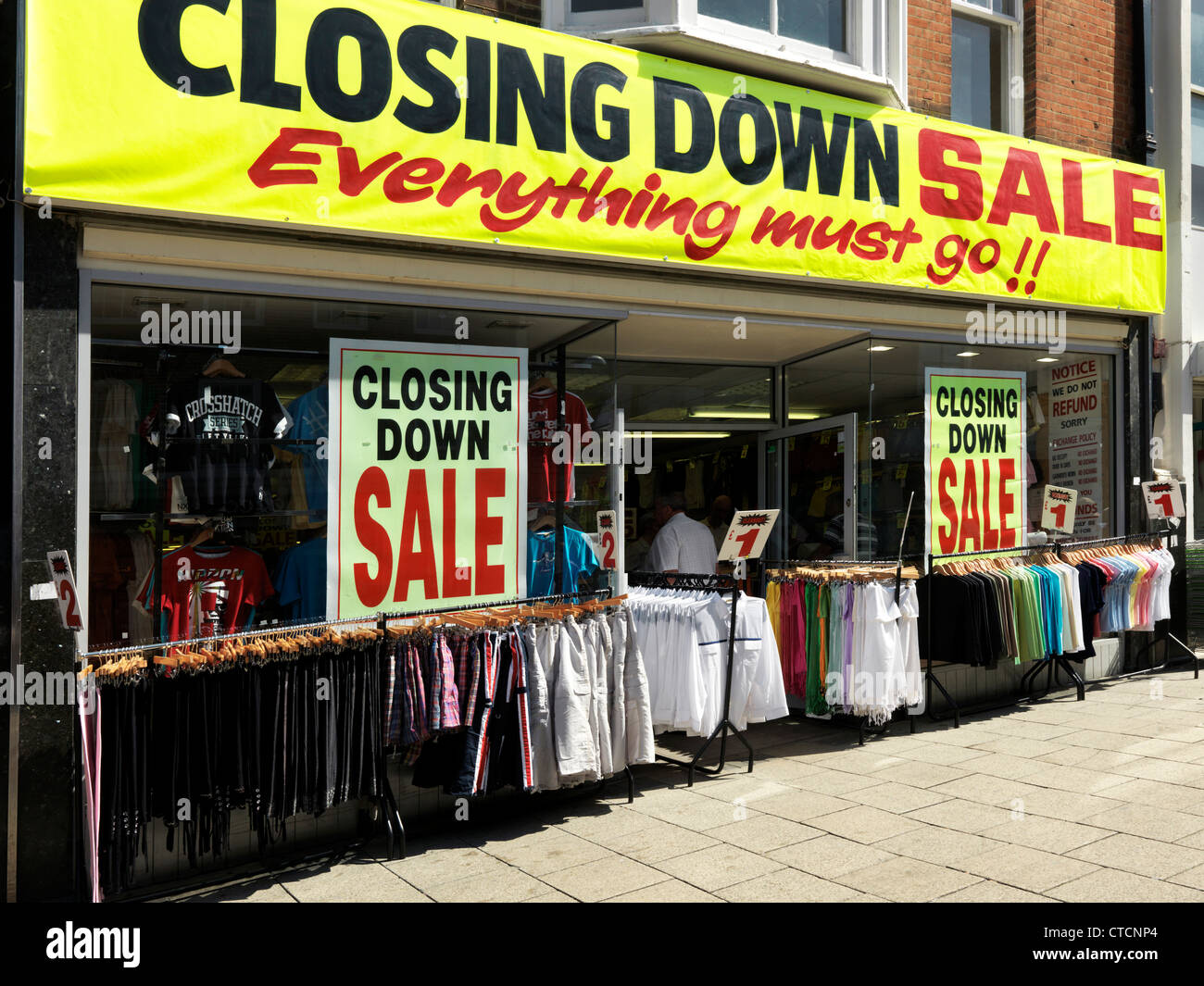 sale store having
