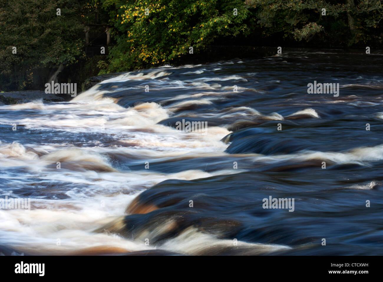 Aysgarth Falls, North Yorkshire Dales National Park - Stock Image