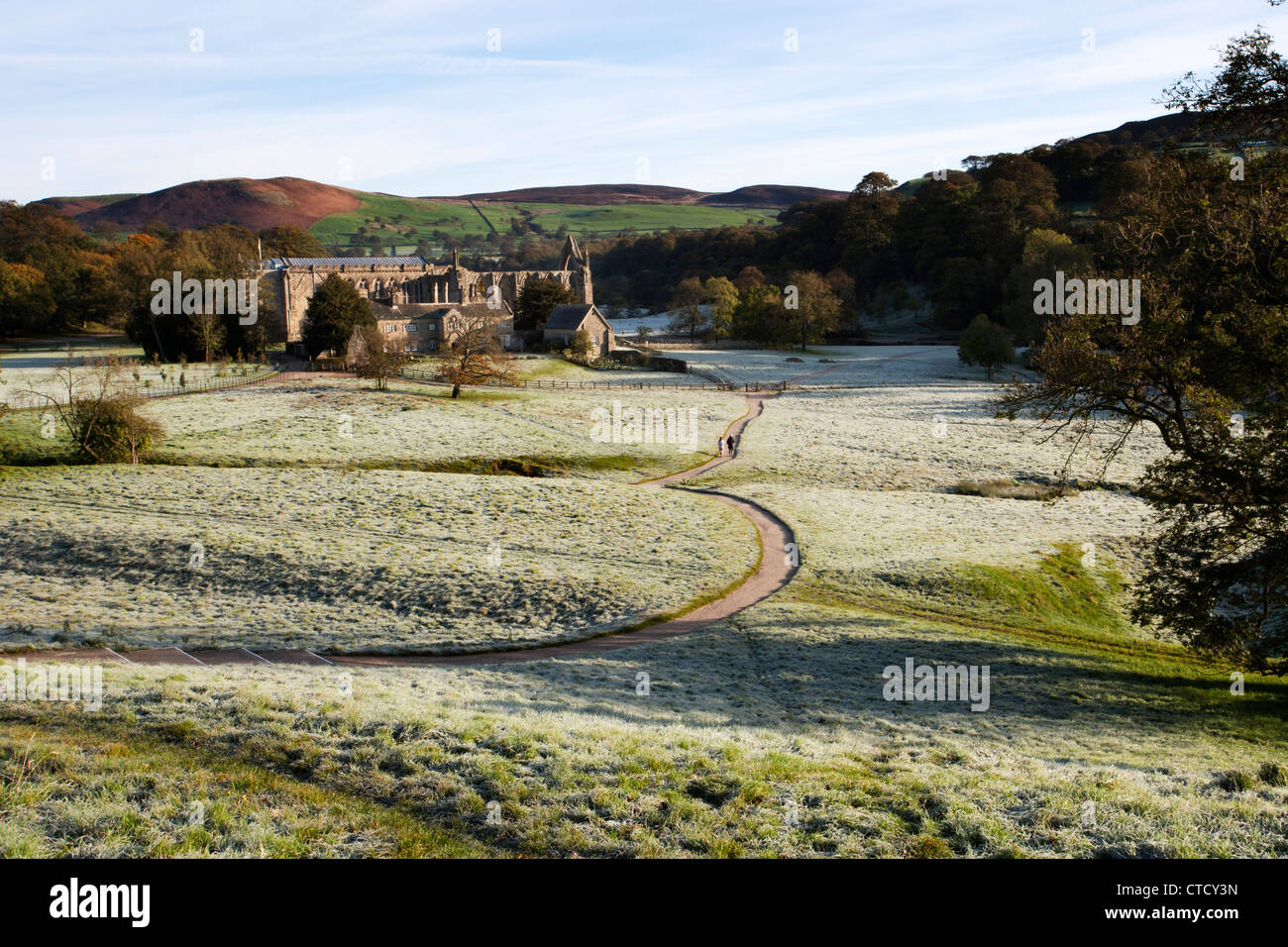 Bolton Abbey, Wharfedale, North Yorkshire Dales National Park Stock Photo