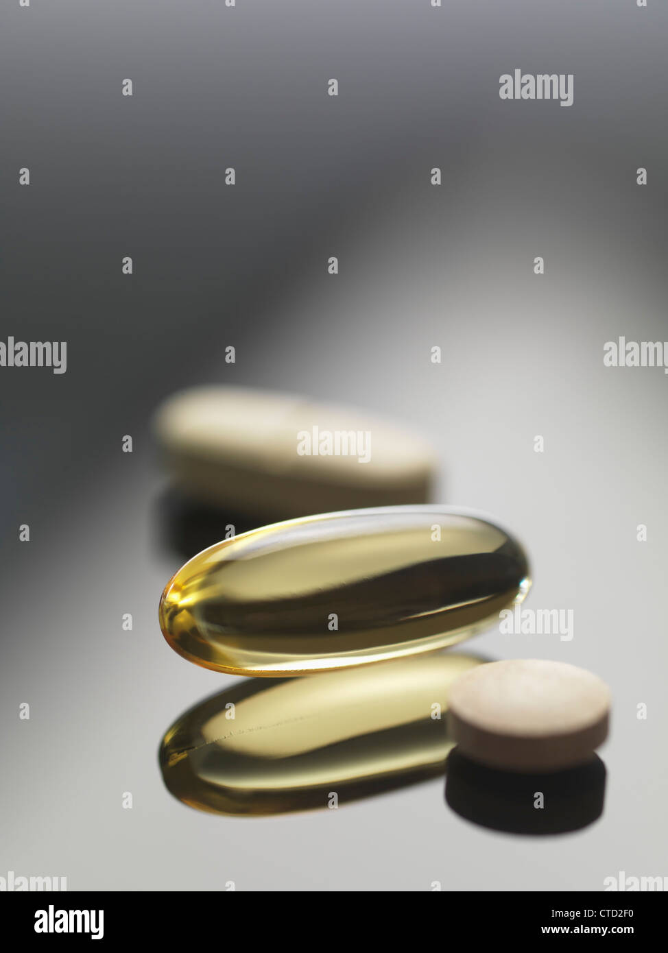 Dietary supplements - Stock Image
