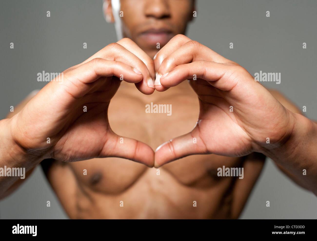 Heart health  conceptual image Stock Photo