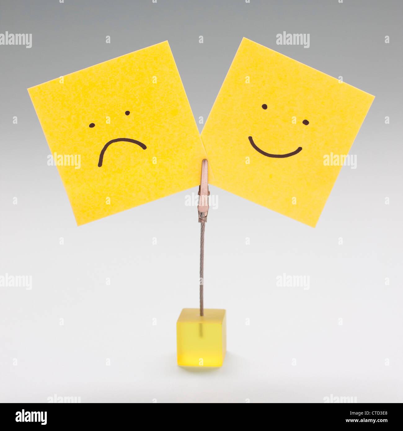 Moods  conceptual image - Stock Image