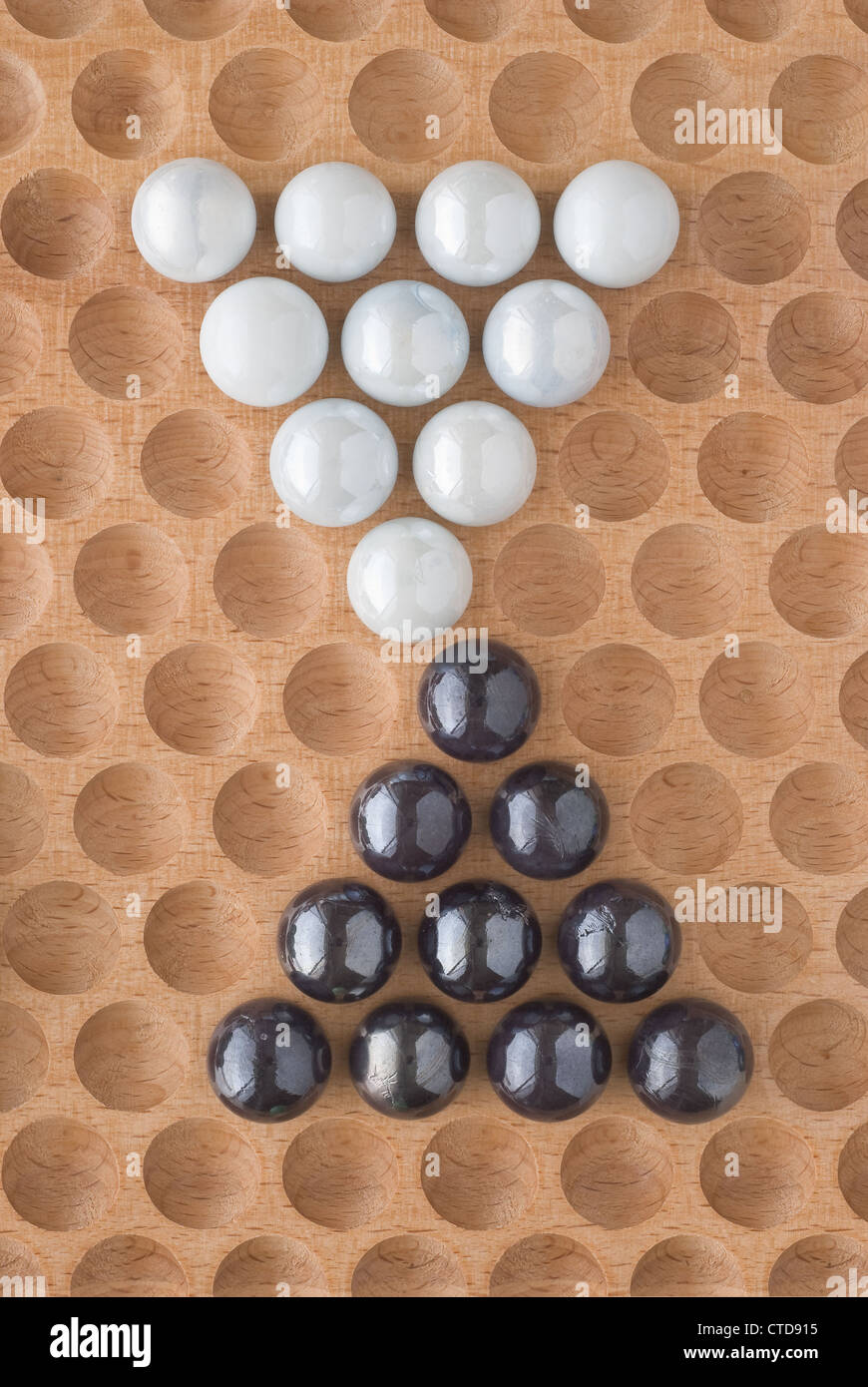 Two sets of Marbles as Design Elements - Stock Image