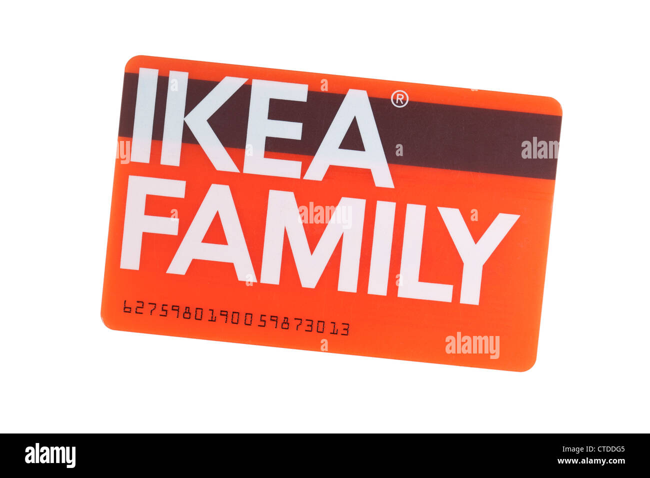 ikea family loyalty card stock photo 49468501 alamy. Black Bedroom Furniture Sets. Home Design Ideas