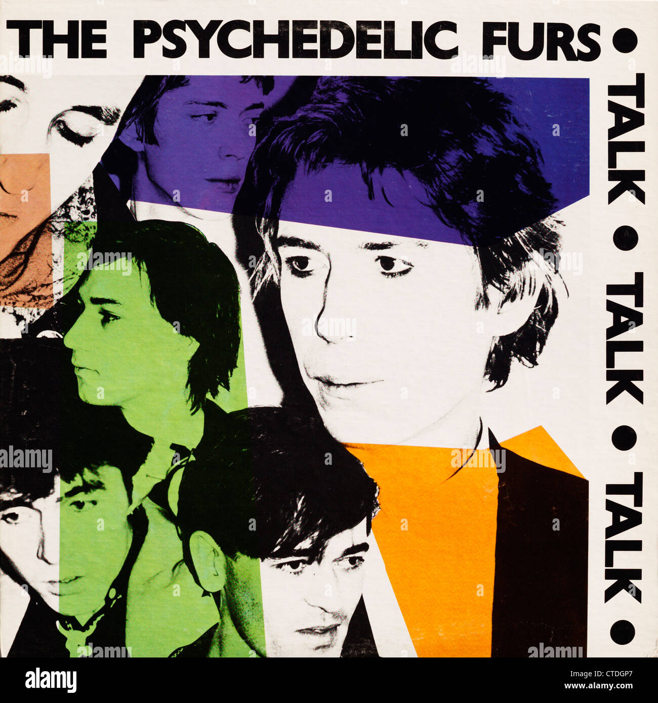 Vinyl LP record album cover from the Psychedelic Furs - Talk