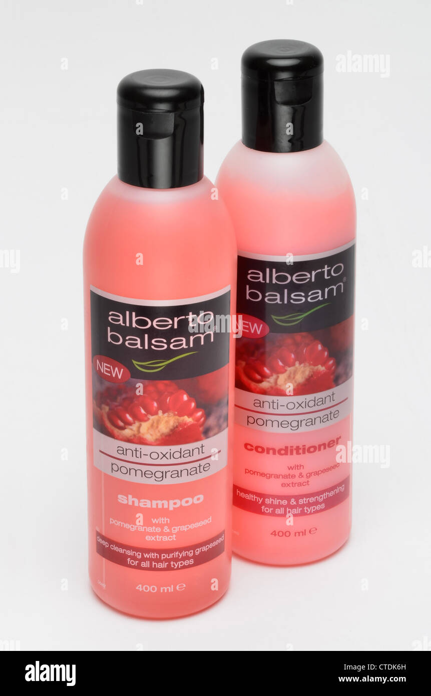 Shampoo & Conditioner - Stock Image
