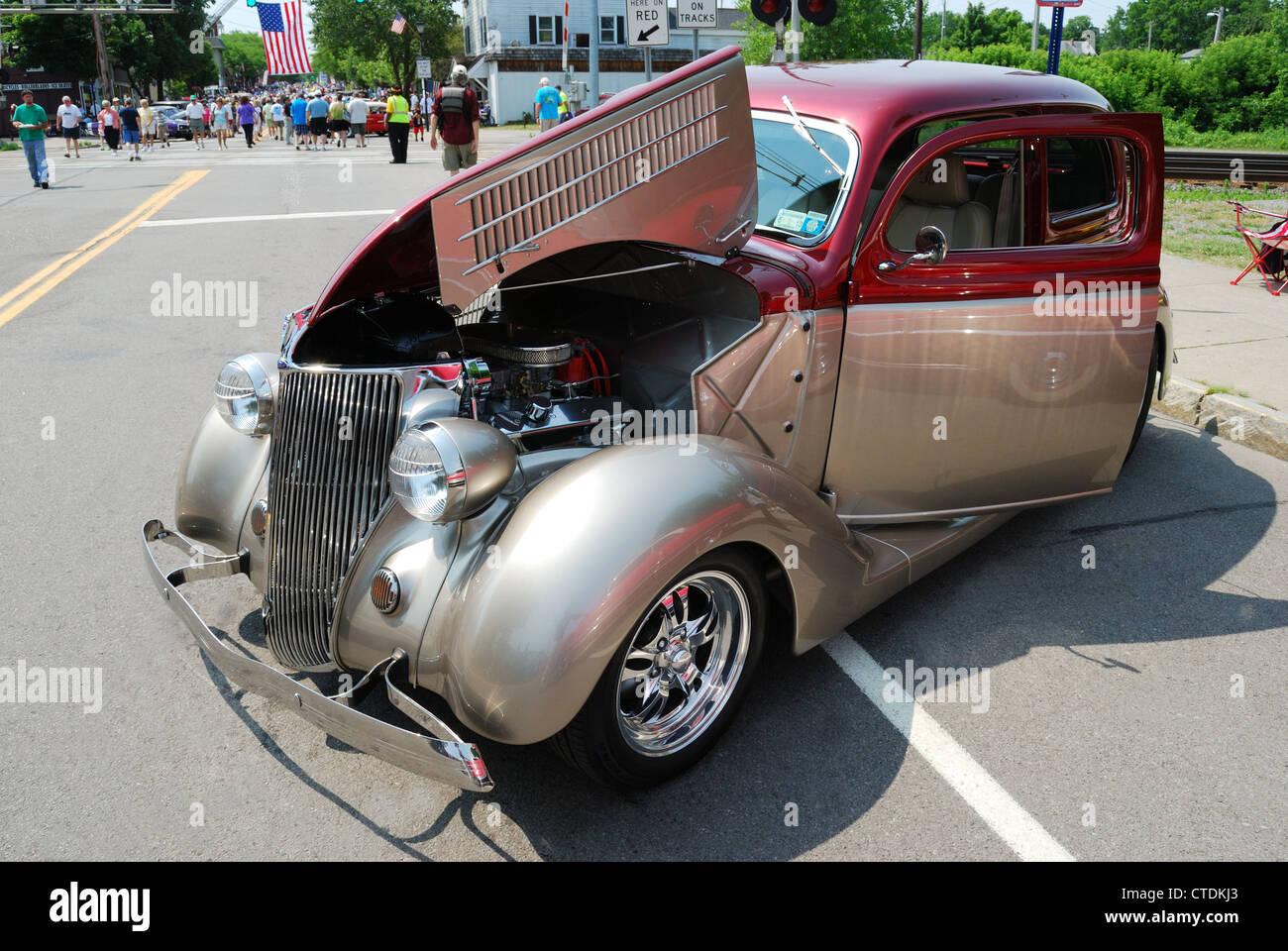Great Race Old Vintage Antique Autos Multi Stages Dearborn Mi Stock ...