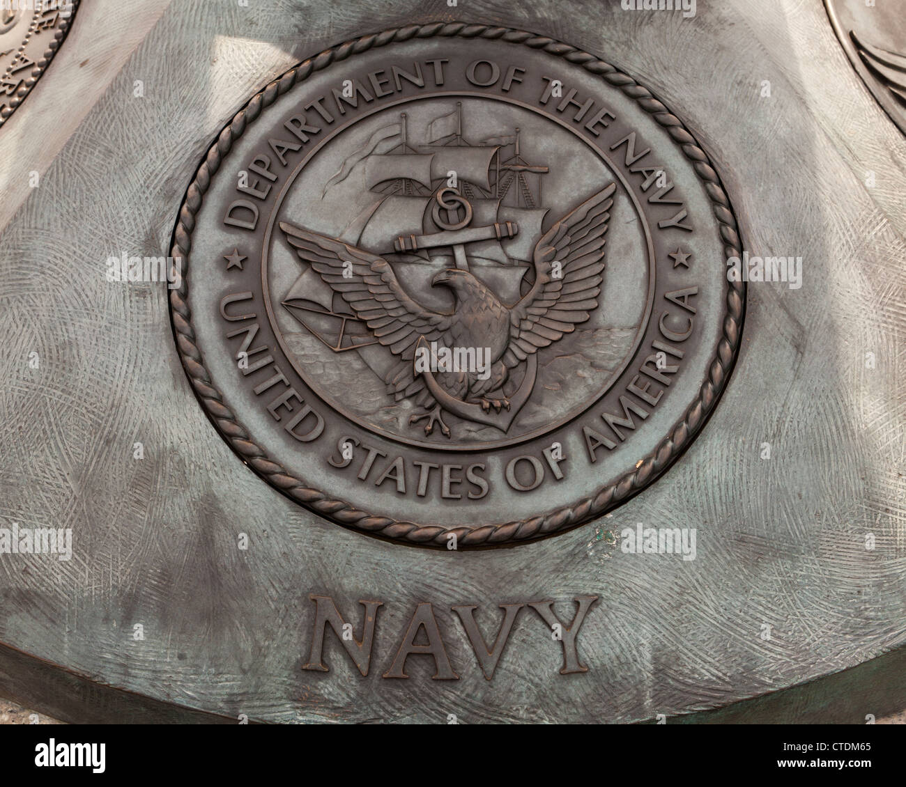 US Navy seal - Stock Image